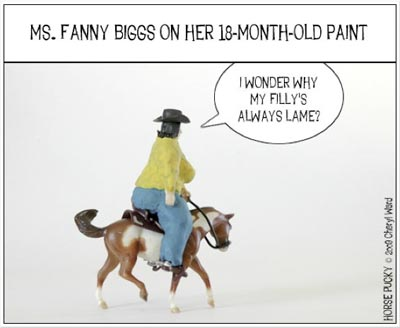 Horse Pucky comic strip sample